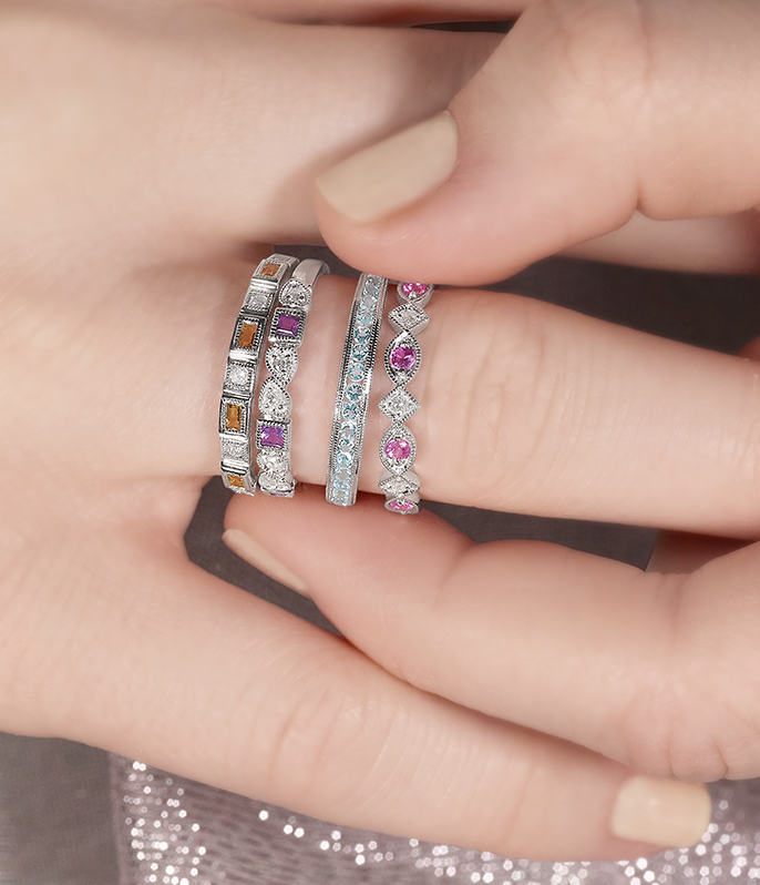Create your perfect ring stack: styling ideas and tips