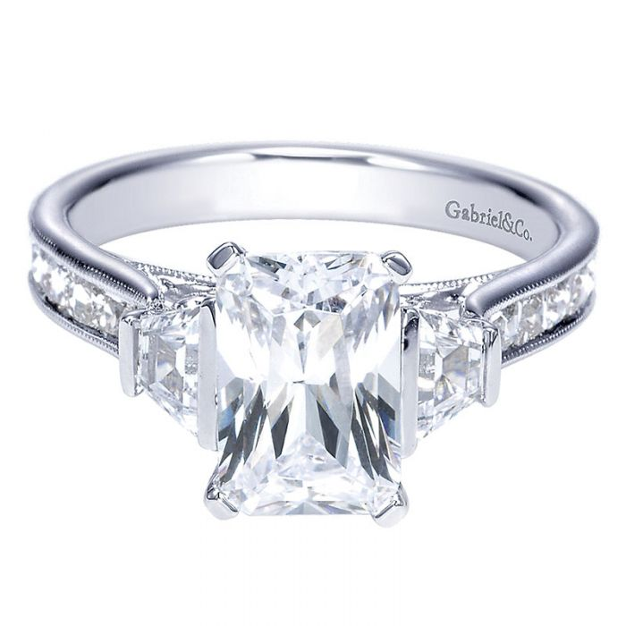 The meaning of three-stone engagement rings