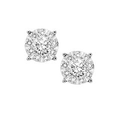 14K Diamond Earring 1/4ctw