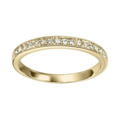 14k Yellow Gold Wedding Band FR1085-4YD