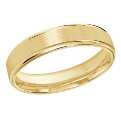 MALO 10K Yellow Gold Wedding Band FT-010-5Y-01
