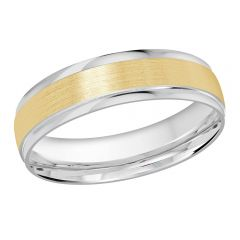 MALO 10K White / Yellow Gold Wedding Band FT-1226-5WY-01
