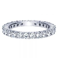 Anniversary Band 14k White Gold Diamond Eternity
