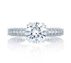 Highly Intricate Art Deco Engagement Ring
