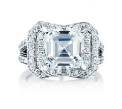 Architectural New York Skyline Engagement Ring