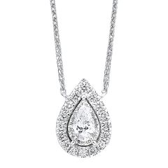 14K Diamond Pendant 1/4 ctw NK10093-4WC