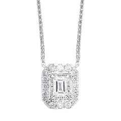 14K Diamond Pendant 1/4 ctw NK10097-4WC