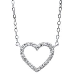 14k White Gold Pendant PD10031-4WSC