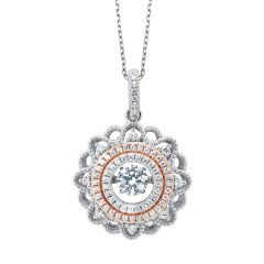 Two-Tone Pendant PD10052-SS