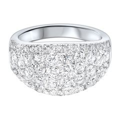 14k White Gold Fashion Ring RG10240-4WB