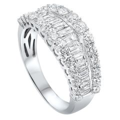 14k White Gold Fashion Ring RG10241-4WC