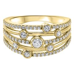 14k Yellow Gold Fashion Ring RG10264-4YC