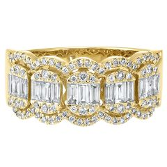 14k Yellow Gold Fashion Ring RG10281-4YC