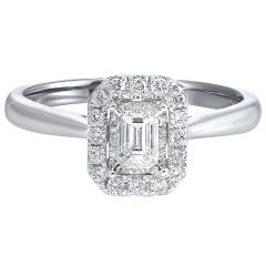 14K Diamond Ring 1/4 ctw RG10580-4WC