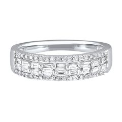 14k White Gold Fashion Ring RG10606-4WC