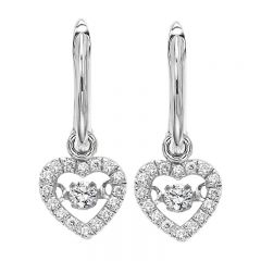 10K Diamond Rhythm Of Love Earring 1/5 ctw ROL1022