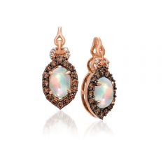 Le Vian 14K Strawberry Gold® Neopolitan Opal Earring YQQM 6