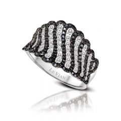 Le Vian Red Carpet® 14k Vanilla Gold® Ring with Blackberry Diamonds® and Vanilla Diamonds®