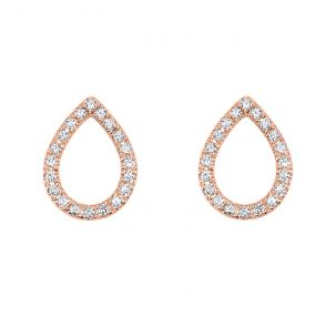 14k Rose Gold Earring ER10019-4PSC