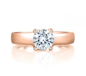 CLASSIC PRONG SET SOLITAIRE ENGAGEMENT RING