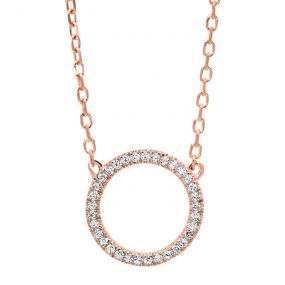 14k Rose Gold Pendant PD10032-4PSC