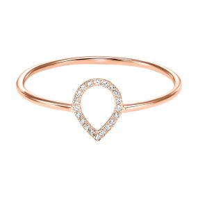 14k Rose Gold Fashion Ring RG10037-4PSC